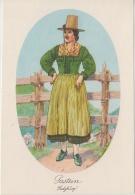 AK - Alexander Blaschkae Karte -  Salzburg  Gastein Tracht - 1930 - Trachten