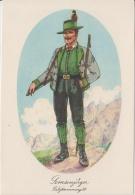 AK - Alexander Blaschkae Karte -  Salzkammergut Gamsjäger Tracht - 1930 - Trachten