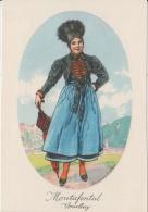 AK - Alexander Blaschkae Karte -  Vorarlberg - Montafontal Tracht - 1930 - Trachten