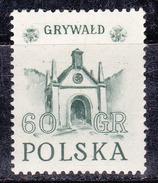 Pologne 1952 N° Y&T :   673 ** - 1944-.... République