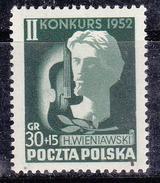 Pologne 1952 N° Y&T :   689 ** - 1944-.... Repubblica