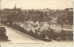 France > [22] Côtes D'Armor > Dinan - Vue Generale De La Ville Et Du Vieux Port - Dinan