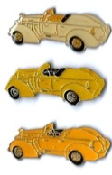 OLD CARS - OD15 - 3 COULEURS DIFFERENTES - Verso : SM - Pins