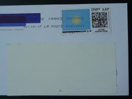 Soleil Sun Timbre En Ligne Sur Lettre (e-stamp On Cover) TPP 3628 - Astronomie