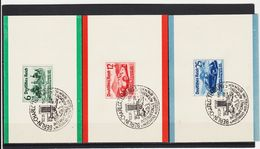 EBA575 DEUTSCHES REICH 1939  MICHL  686/88 SATZ Mit SONDERSTEMPEL SIEHE ABBILDUNG - Deutschland