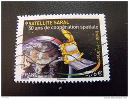 TP FLE 2015 NO 4945 SATELLITE SARAL OBLITERE - France