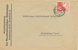 BRANDENBURG - 1938 , Brief Der Betriebsverwaltung Der Brandenburgischen Städtebahn - Big Letter, Dispatch - 4,20 EURO - Deutschland