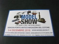 TRENO TRAIN  MODEL SHOW  MODELLISMO PORTO ANTICO GENOVA - Giochi, Giocattoli