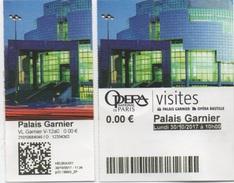 Opéra National De Paris : Visites Libres Palais Garnier 11.00€ - Tickets D'entrée