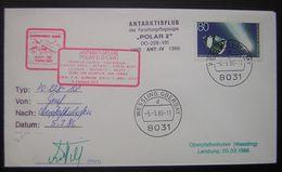 1986 Wessling Oberbay Antarktisflug Polar 2 DO 228 101 (voir Photos) (deutschland) - Expéditions Antarctiques
