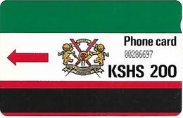 @+ Kenya - KSHS 200 (avec Encoche) - Kenya