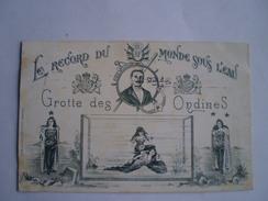 Circus -Cirque // Freakshow - Magic? // Le Record Du Monde Sous L'Eau - Grotte Des Ondines // Used NL 1910 VERY RARE - Circus
