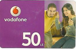 @+ Egypte - Vodafone 50 LE - Egypte