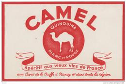 Buvard :  CAMEL   Quinquina - Blotters