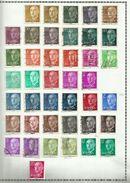Espagne N°854 à 869, 1880 à 1882 (doubles Et Variétés Non Comptés) Cote 4.95 Euros - 1951-60 Usados