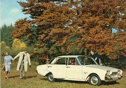 FORD TAUNUS 17M  -  Automobile Carte Pub - Passenger Cars