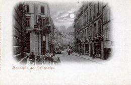 Souvenir De Neuchatel - 4P27b - NE Neuchâtel