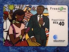 CARIBBEAN ISLANDS - PREPAID CELLULAR - FREEDOM - Telefonkarten