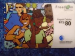 CARIBBEAN ISLANDS - PREPAID CELLULAR - FREEDOM - Phonecards