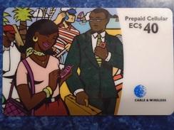 CARIBBEAN ISLANDS - PREPAID CELLULAR - WITHOUT FREEDOM - Telefonkarten