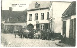 Comines Komen Frontières Grenz 1916 Animée Bureau Des Douanes Francaises Feldpost Soldatenbrief - Komen-Waasten