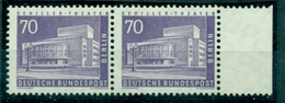 Berlin. Bauwerke, Nr. 152 Postfrisch ** Paar Rechter Rand - Berlin (West)