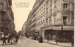 57 - PARIS XIVe  - RUE MOUTON-DUVERNET ET AVENUE D'ORLÉANS - Distretto: 14
