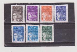 FRANCE    1997  Y.T. N° 3086  à  3099  Incomplet  NEUF*  Sans Gomme  Sans Bande De Phosphore - 1997-04 Marianne Of July 14th