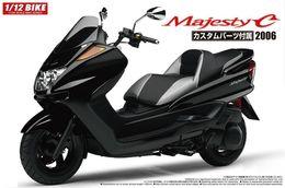 Scooter Yamaha Majesty C 2006 1/12 ( Aoshima ) - Motorcycles
