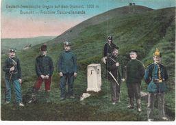 Carte Postale Ancienne De DRUMONT - FRONTIERE - France