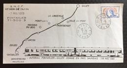 Trail Autorail Pontarlier / Gilley - Voyage Au Pays Saugeais - Non Classés