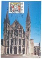 CARTE / REIMS / SA SAINTETE LE PAPE JEAN PAUL II / VIVITE PASTORALE EN FRANCE / 1996 - Gedenkstempel