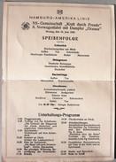 AK Hamburg-Amerika-Linie NS-Gemeinschaft Norwegenfahrt III°Reich - - Dokumente