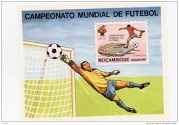 Mozambique-1982-Gardien De But-Stade-Coupe  Du Monde De Foot En Espagne-B8***MNH - Mozambique