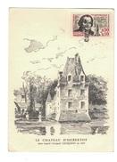 Carte VAUQUELIN.Saint ANDRÉ Yvert 1373 - FDC