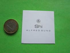 SUNG ALFRED - Carte Parfumée - Perfume Cards
