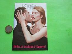 L'OREAL - Carte Parfumée - Perfume Cards