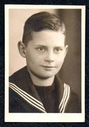 A8318 - Alte Foto - Porträt - Hübscher Junge - Pretty Young Boy - Pelda Oelsnitz - Fotografie