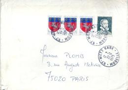 France Vignette Expérimentale Sur Lettre 1975 Palissy - Andere