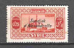 Turkey Sandjak Alexandrette 1938 Mi 4 MNH (READ) - 1934-39 Sandjak Alexandrette & Hatay