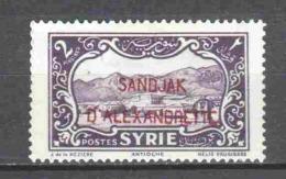 Turkey Sandjak Alexandrette 1938 Mi 6 MH - 1934-39 Sandjak Alexandrette & Hatay