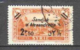 Turkey Sandjak Alexandrette 1938 Mi 11 Canceled - 1934-39 Sandjak Alexandrette & Hatay