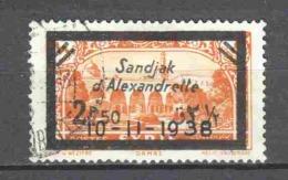Turkey Sandjak Alexandrette 1938 Mi 24 Canceled - 1934-39 Sandjak Alexandrette & Hatay