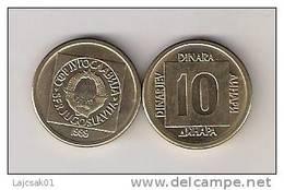 Yugoslavia 10 Dinara 1989.   KM#131 - Joegoslavië