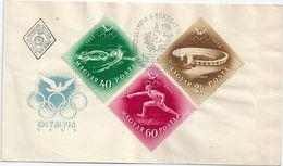 7719 Hungary FDC Summer Olympic 1952 Helsinki Sport - Sommer 1952: Helsinki