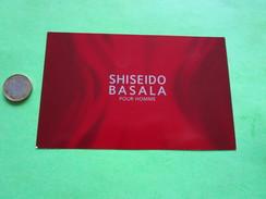 SHISEIDO - Carte Parfumée - Perfume Cards