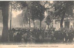 Charleville - Manifestation Du 11 Septembre 1911 - L'Avant-Garde - Charleville