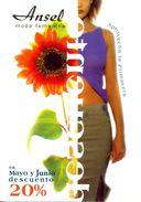 Espagne - Barcelone - Ansel - Moda Femenina - Carte Cadeau 20 % De Remise - Pedralbes Centre Barcelona - 2304 - Magasins