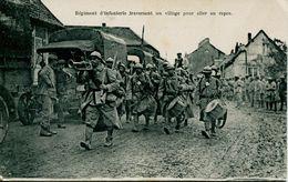 13500   .1914 1918 Militaria  - Musique En Tete Pour Aller Au Repos - Oorlog 1914-18