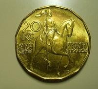 Czech Republic 20 Korun 1993 - Tschechische Rep.